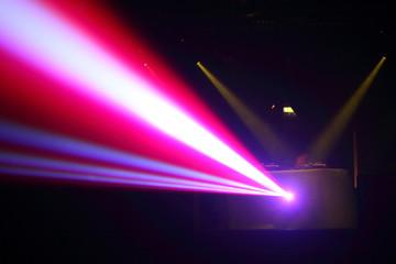 luci in discoteca