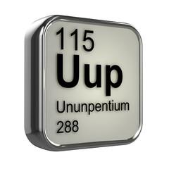 3d Periodic Table - 115 Ununpentium