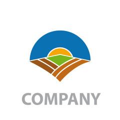 Logo Organic farming # Vector