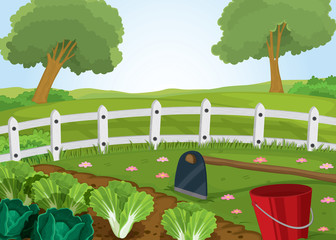 farm and gardening tools