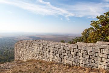 A ancient fortress Madara in Bulgaria