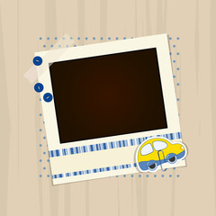 scrapbook photo - place your text and photo