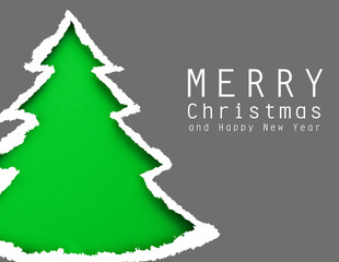 Christmas tree (easy to remove the text)