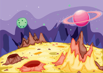 planet surface