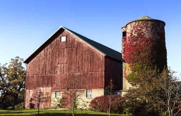 American old country farm