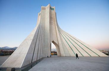 Azadi Monument and Pedestrian