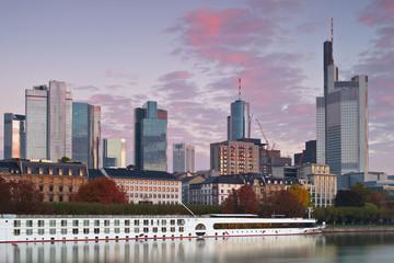 Herbstmorgen Frankfurt am Main
