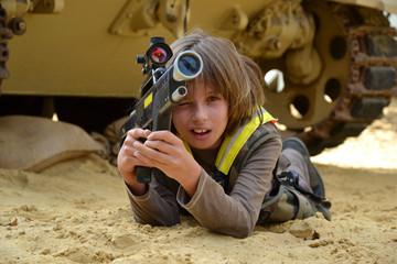 Jeux d'enfant - Laser Game - Thème de la guerre