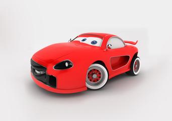 Printed roller blinds Cars Cartoon Car