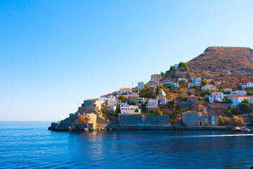 Hydra Island Saronikos Gulf Greece