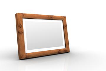 3D Holz-Bilderrahmen - Eiche Ast