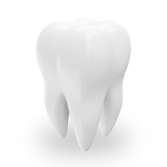 Health Tooth isolated on white background