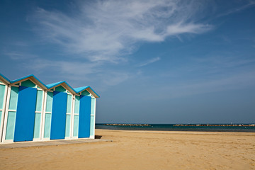 Pesaro, la spiaggia