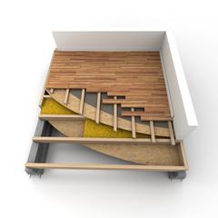 Floor isolation