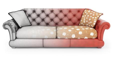 Modeling of sofa