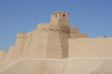 Stadtmauer von Chiwa, Usbekistan