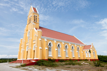 St. Willibrordus church in Curacao, Netherlands Antilles.