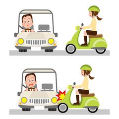脇見運転 交通事故