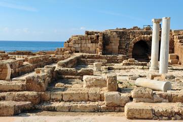 Old Caesarea in Israel
