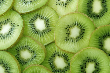 Backlit Kiwi Slice