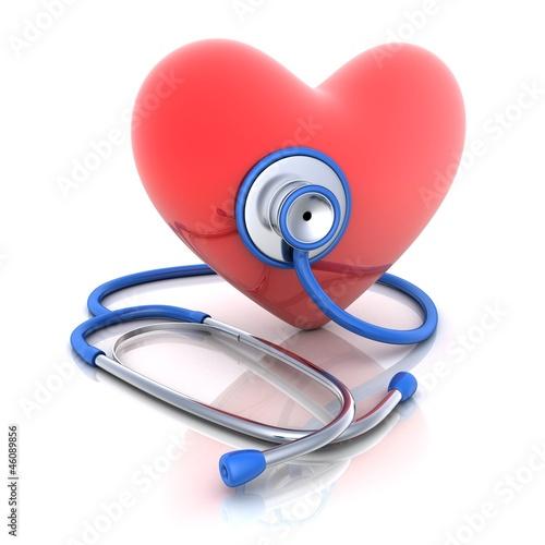 Stethoscope heart