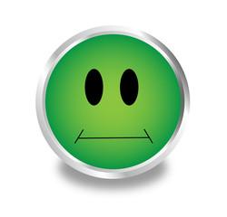 Vektor Smilie Grün