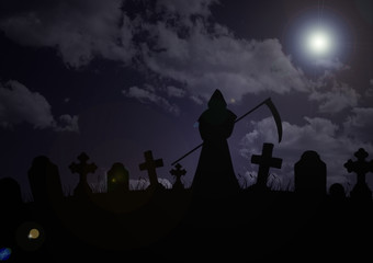cemetery - skeleton