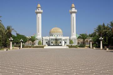 Keuken foto achterwand Tunesië Mausoleum of Bourguiba in Tunisia in Africa