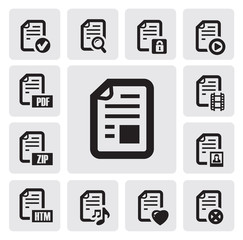 documents icons