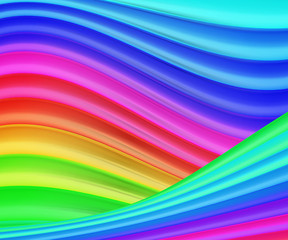 Colorful Rainbow Texture Background