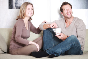 Ehepaar beim Entspannen