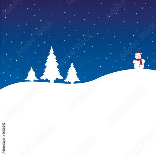 weihnachten hintergrund b ume schneemann blau wei stockfotos und lizenzfreie vektoren. Black Bedroom Furniture Sets. Home Design Ideas