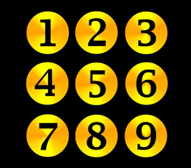Gold numbers