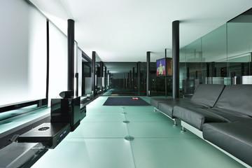 Architecture of De Angelis Mazza, interior, modern house