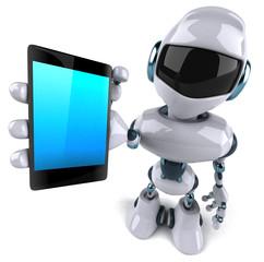 Spoed Foto op Canvas Robots Fun robot
