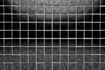 fondo de baldosas negras