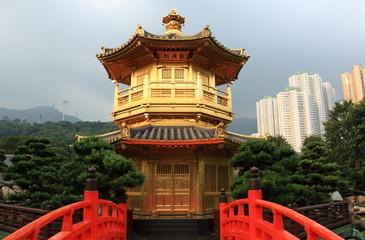 Pavilion in Nan Lian Garden, Hong Kong