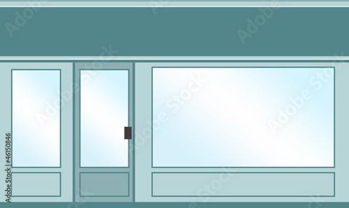 magasin vitrine commerce photo libre de droits sur la banque d 39 images image 46150846. Black Bedroom Furniture Sets. Home Design Ideas