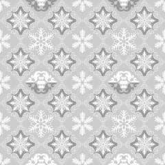 Christmas Wallpaper Seamless. Pattern. Retro. Vector