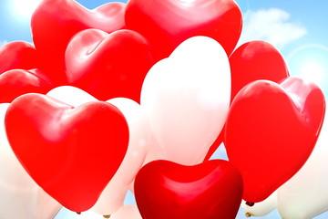Ballon Herzen