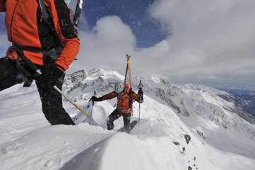 Bergsteigen extrem