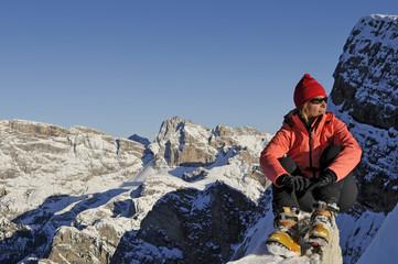 Winter Erlebnis Berge