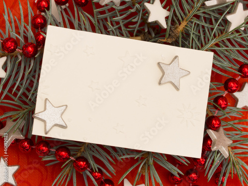 new years greeting card\