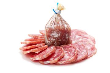 sliced salami
