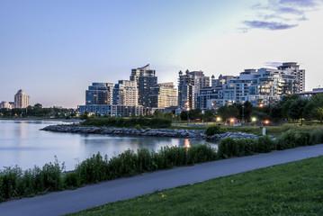 Condominum building at etobicoke Toronto
