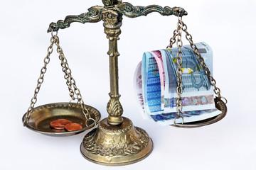 Cent und Euro