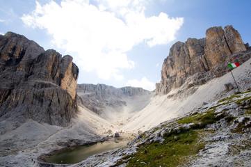 Pisciadùsee - Selleagruppe - Dolomiten