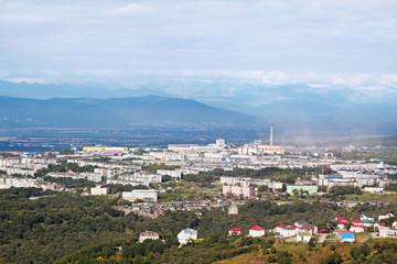 Petropavlovsk-Kamchatsky cityscape