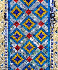 Thai mosaic art