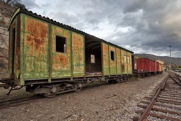Caminhos de ferro antigos
